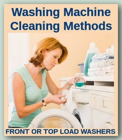 washing machine cleaning methods