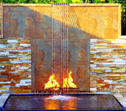 Ordinaire 30 Creative Outdoor Backyard Water Walls_23