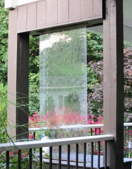 30 Relaxing Water Wall Ideas For Your Backyard or Indoor