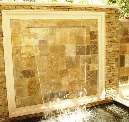 30 Creative Outdoor Backyard Water Walls_26