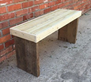 DIY 20 Wood Bench Project 11