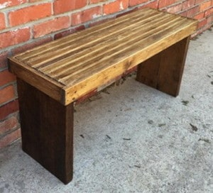 DIY 20 Wood Bench Project 12