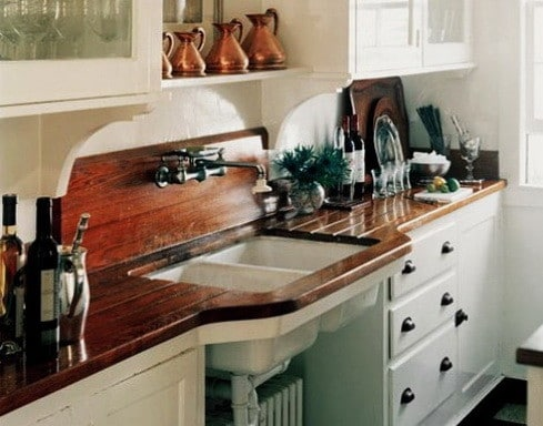 Kitchen Countertops Made of Wood_10