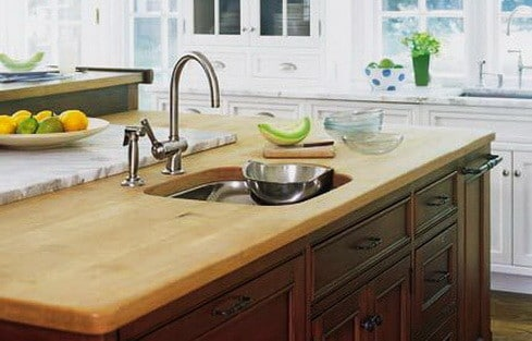 Kitchen Countertops Made of Wood_11