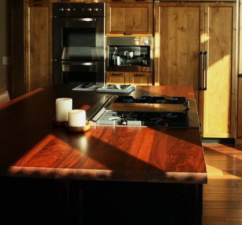 Kitchen Countertops Made of Wood_13