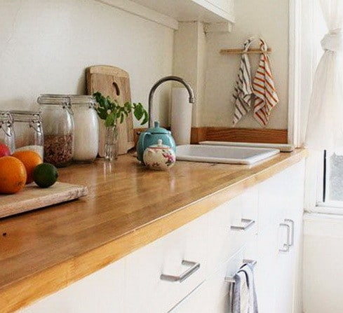 Kitchen Countertops Made of Wood_14