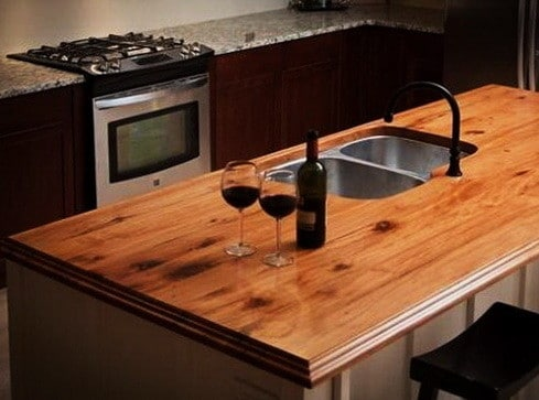 Kitchen Countertops Made of Wood_15