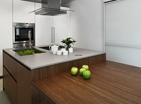 Kitchen Countertops Made of Wood_16