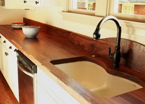 Kitchen Countertops Made of Wood_18