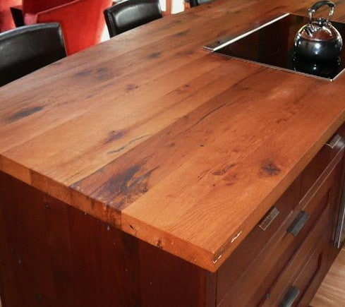 Kitchen Countertops Made of Wood_19