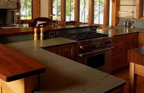Kitchen Countertops Made of Wood_21