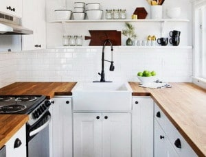 Kitchen Countertops Made Of Wood 32