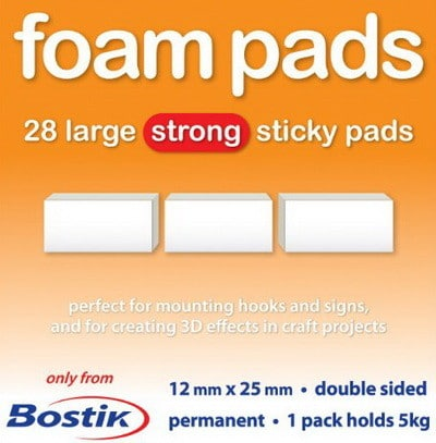 foam pads with adhesive back