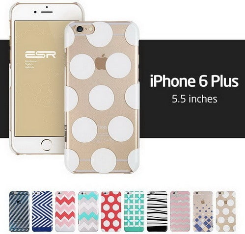 iPhone 6 Plus Case, ESR the Beat Series Protective Case Bumper