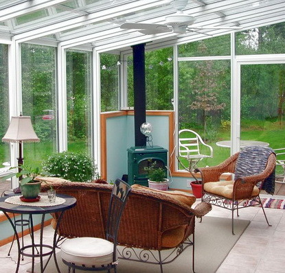 50 sunroom porch ideas for any budget for Porch sunroom