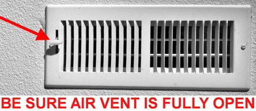 Air Conditioning Not Coming Through One Vent In My House