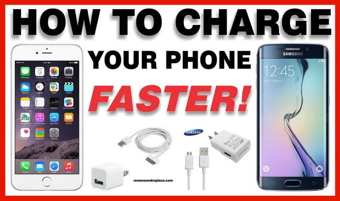 charge phone faster