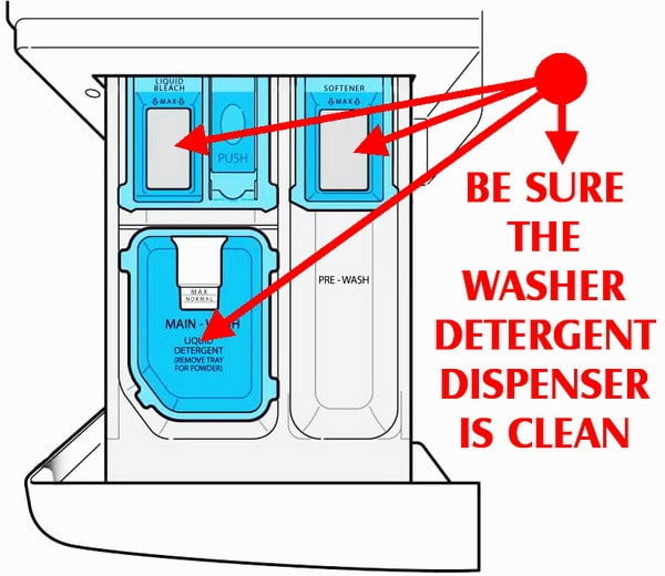 How To Fix Front Load He Washer Does Not Dispense