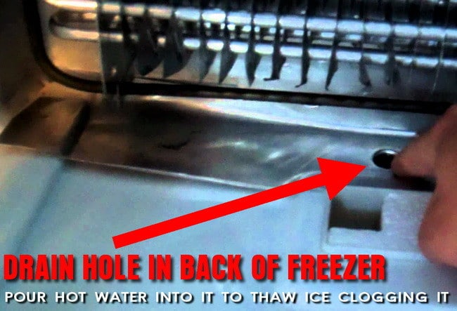 How To Repair A Freezer Dripping Water Into Refrigerator
