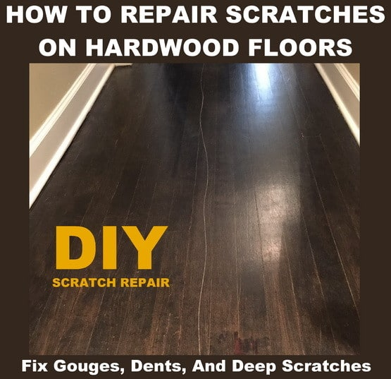 how to fix a scratched hardwood floor - multiple repair solutions