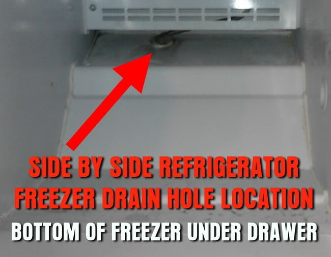How to repair a freezer dripping water into refrigerator Can you put hot food in the refrigerator