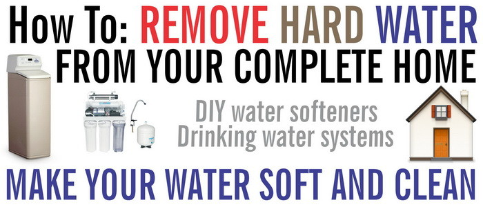 Remove Hard Water From Your Whole House