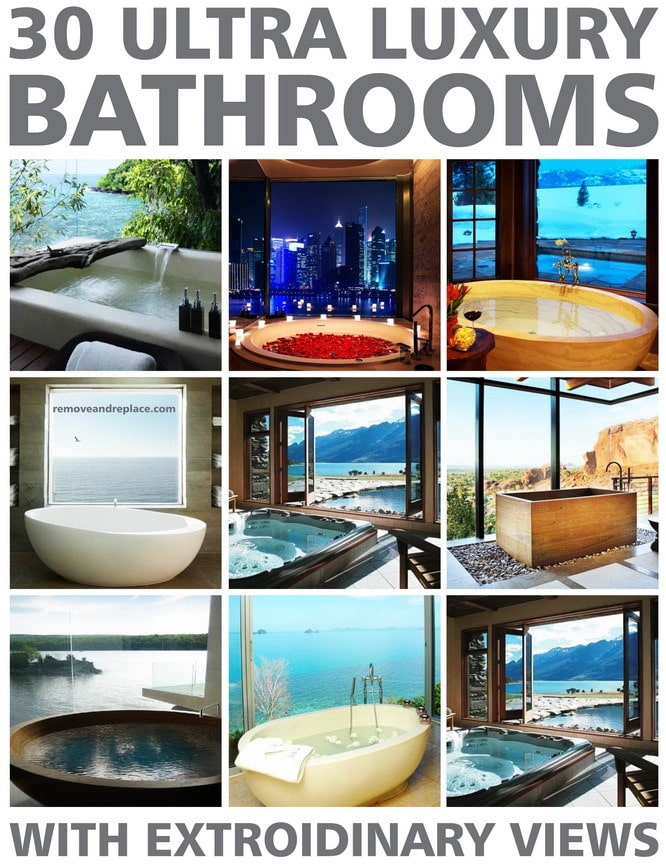 30 luxury bathroom ideas