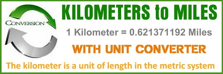 conversion - KM to MPH