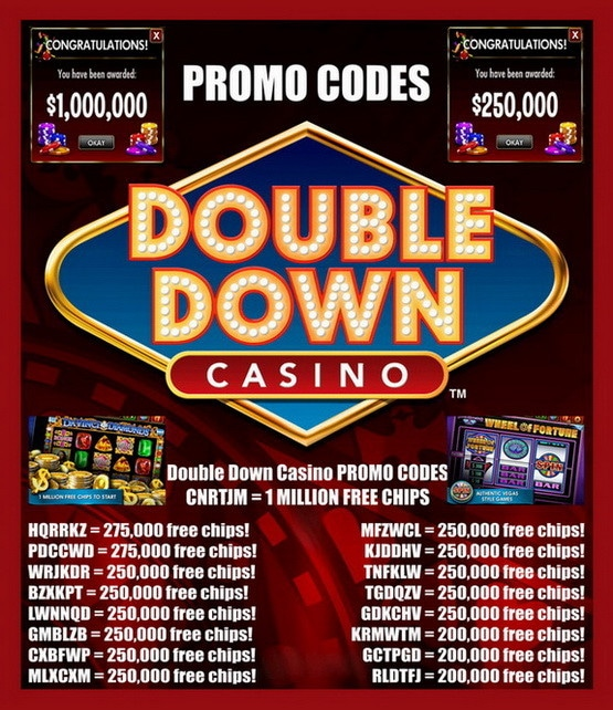 Double Down Casino Codes DDC - Promo Codes Updated December 2nd 2016