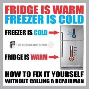 Fridge Warm Freezer Cold Removeandreplace Com