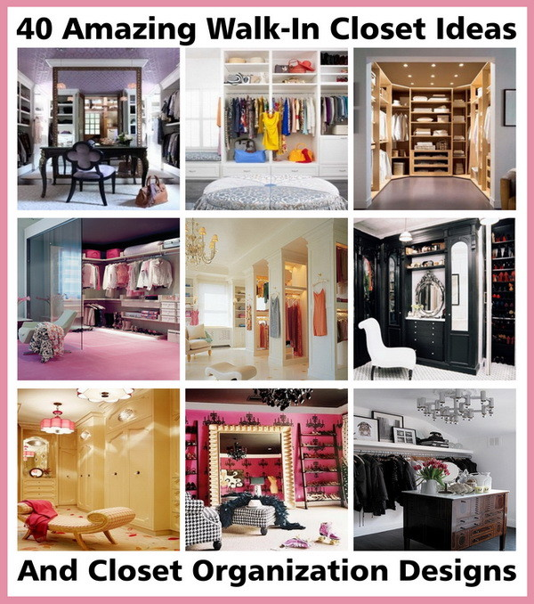 40 walk-in closet ideas and designs