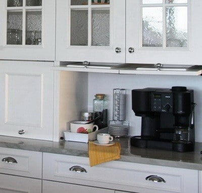 appliance storage ideas for smaller kitchens_01 - Kitchen Countertop Storage Ideas