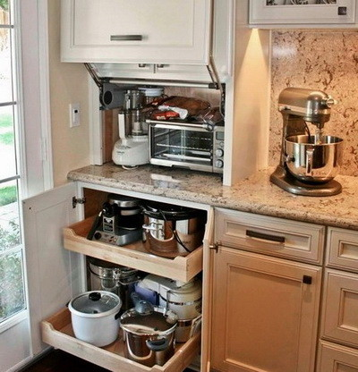 Appliance Storage Ideas For Smaller Kitchens_32