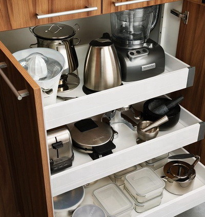40 Appliance Storage Ideas For Smaller Kitchens | RemoveandReplace.com