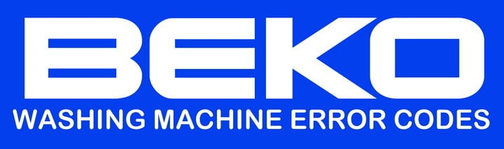 Beko Washing Machine Error Codes