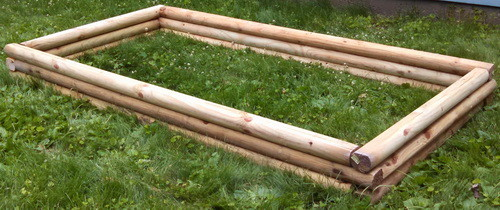 DIY Landscaping Timbers Raised Garden Bed_06