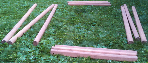DIY Landscaping Timbers Raised Garden Bed_14
