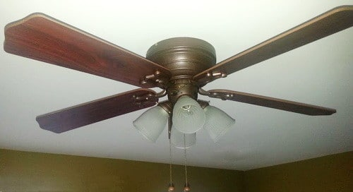 How To Modernize An Outdated Ceiling Fan Fast Cheap DIY Paint It_7