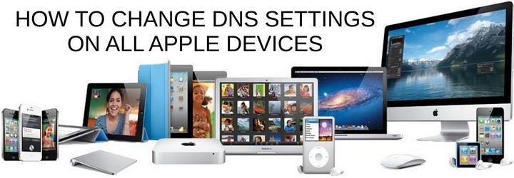 change dns on apple