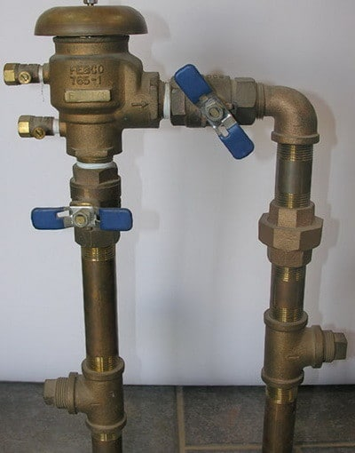 common shut off valves for home irrigation system