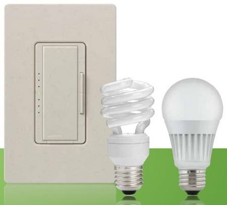 lutron light bulbs and compatible dimmer switch