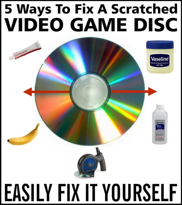 How to Fix a Scratched Video Game Disc [SOLVED] | Error Fix It