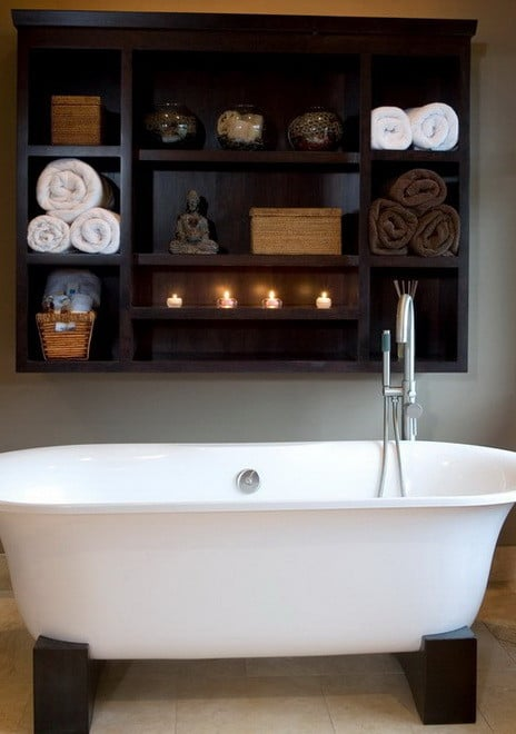 30 Bathroom And Shower Storage Ideas_02