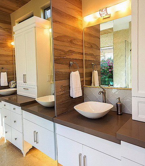 30 Bathroom And Shower Storage Ideas_30