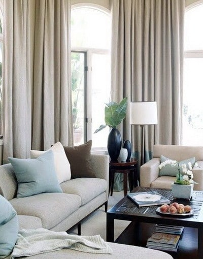 30 Ultra Neutral Living Room Design Ideas_01