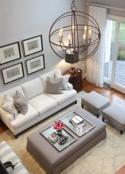 30 Ultra Neutral Living Room Design Ideas_02