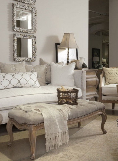 30 Ultra Neutral Living Room Design Ideas_10