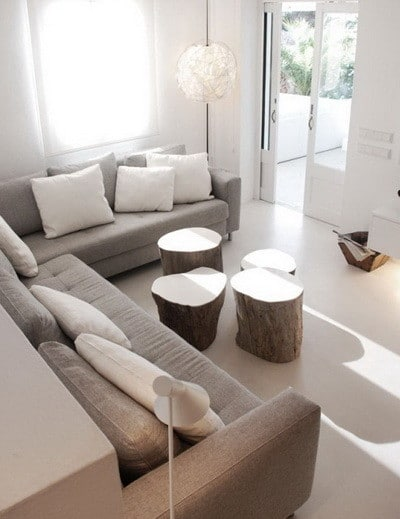 30 Ultra Neutral Living Room Design Ideas_13