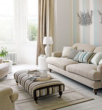 30 Ultra Neutral Living Room Design Ideas_23