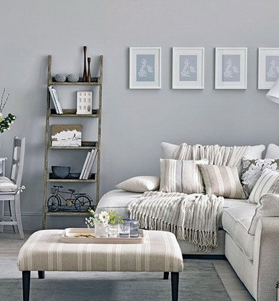 30 Ultra Neutral Living Room Design Ideas_24
